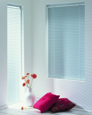 Roller blinds,  bay windows