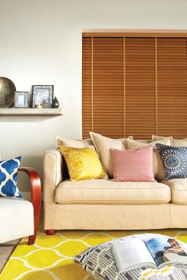 Venetian blinds,  Wooden Blinds