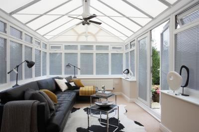 conservatories, vertical blinds
