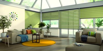 conservatories,  Wooden Blinds